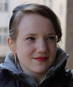 Die 23-jährige Berlinerin studiert Literaturwissenschaften