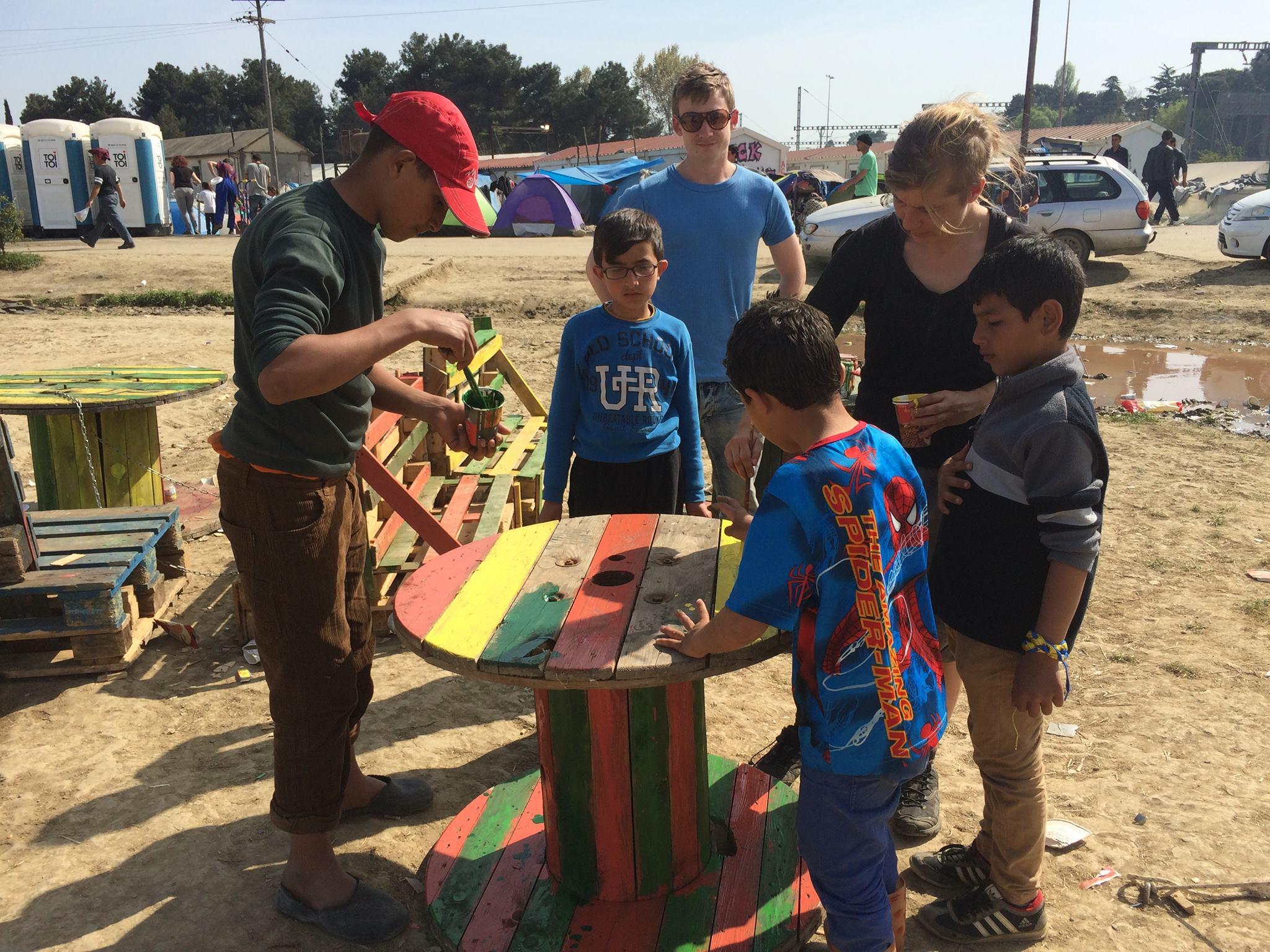 Flüchtlinge in Idomeni und Chios: Lager in Griechenland