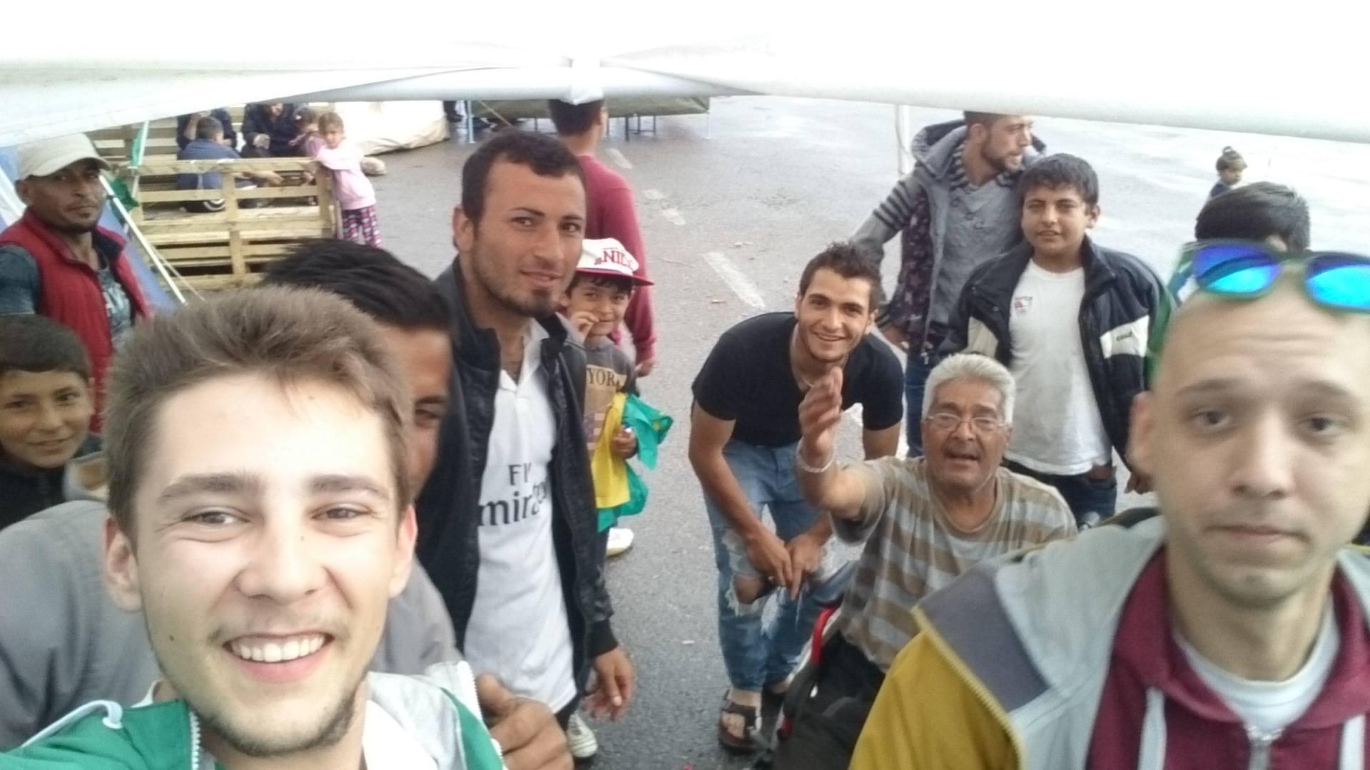 Flüchtlinge in Idomeni und Chios: Flüchtlingslager in Griechenland